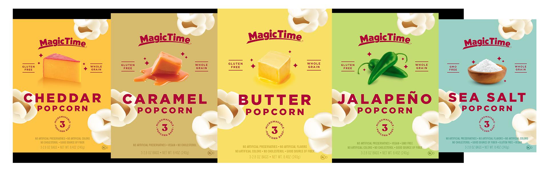 MagicTime Microwave Popcorn